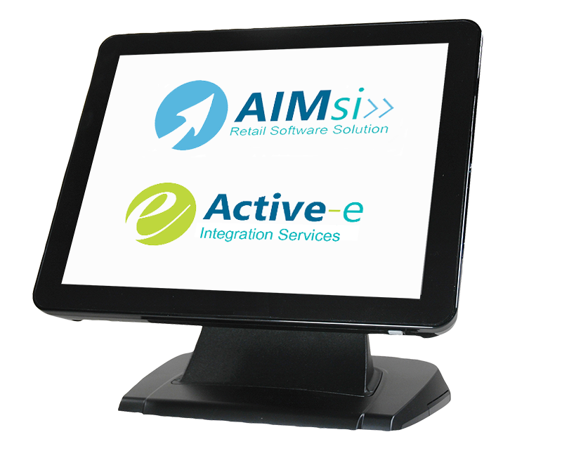 aimsi and active-e on a touchscreen