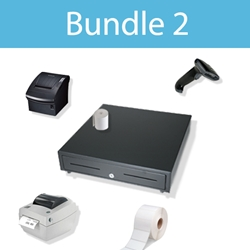 POS Hardware Bundle With Barcoding
