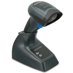 QBT2430 QuickScan Bluetooth USB 2D Image Scanner Black with Base Station.